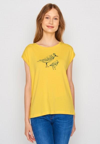 Animal Bird Friends Tender Maize Yellow