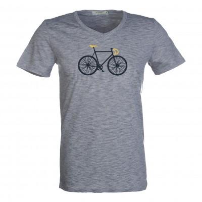 Bike Free Peak Deep Blue Stripes