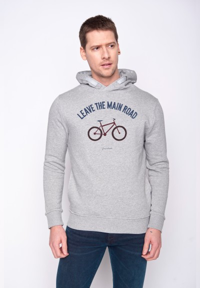 Bike Leave Road Star Heather Grey