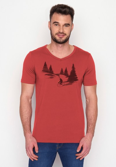 Nature Bear Romantic Peak Sun Red