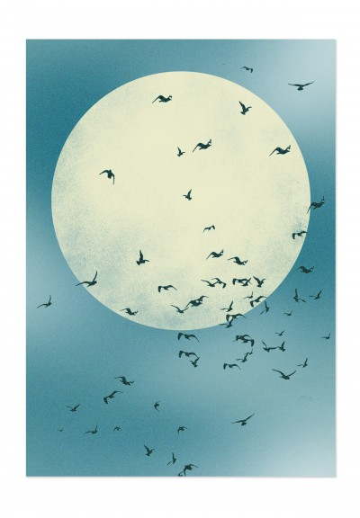 Nature Moon Poster