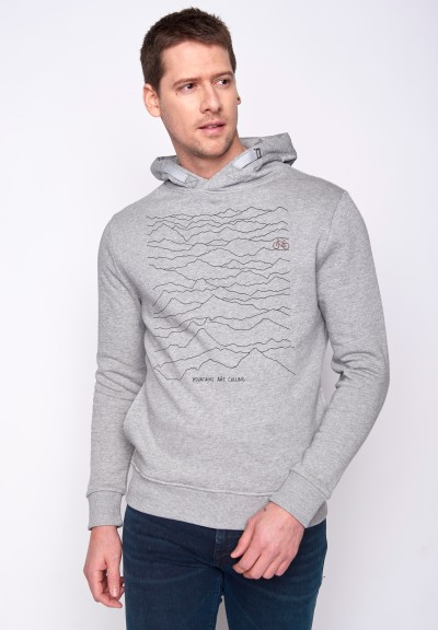 Nature Mountains Call Star Heather Grey