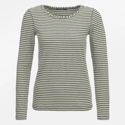 Basic Charme Olive Stripes