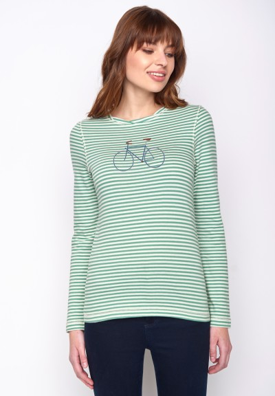 Bike Single Charme Frosty Green Stripes