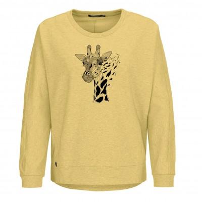 Animal Giraffe Slack Heather Yellow